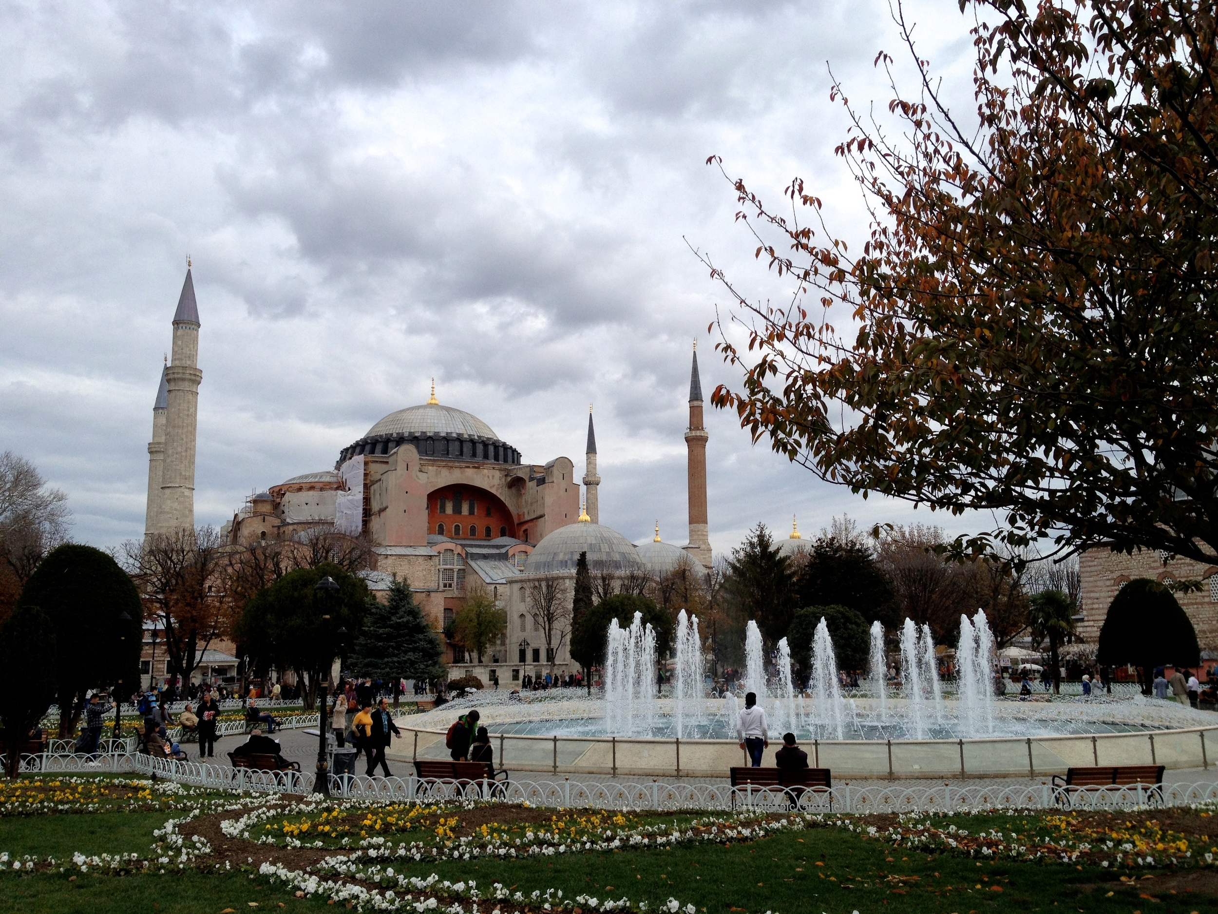 Constantinople. Not Istanbul.