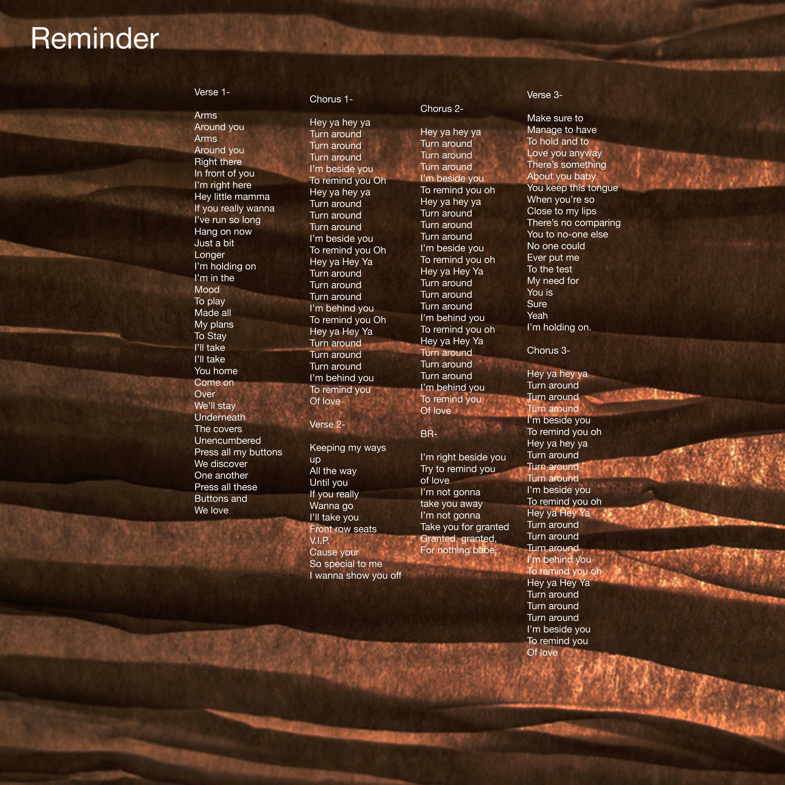 ReminderLyricArtDLX.jpg