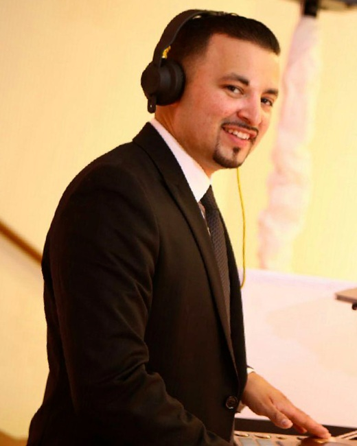 Master Bilingual MC/DJ - Sergio is our Bi Lingual MC/DJ, who can rock any type of event we throw at him. He developed his style in the underground mobile club scene producing and throwing parties, earning his DJ wings the only way you can by spinning night after night for many years. Sergio is also known for his deep understanding of Latin Music, knowing it so well that he gives lectures to packed rooms of DJs wanting to better understand the genre, making us non Spanish speaking DJs even better. Sergio delves so deep, he will figure out your regions best music, and to top it all off he is super easy to work with and one of the coolest guys you could have work with you on your event.
