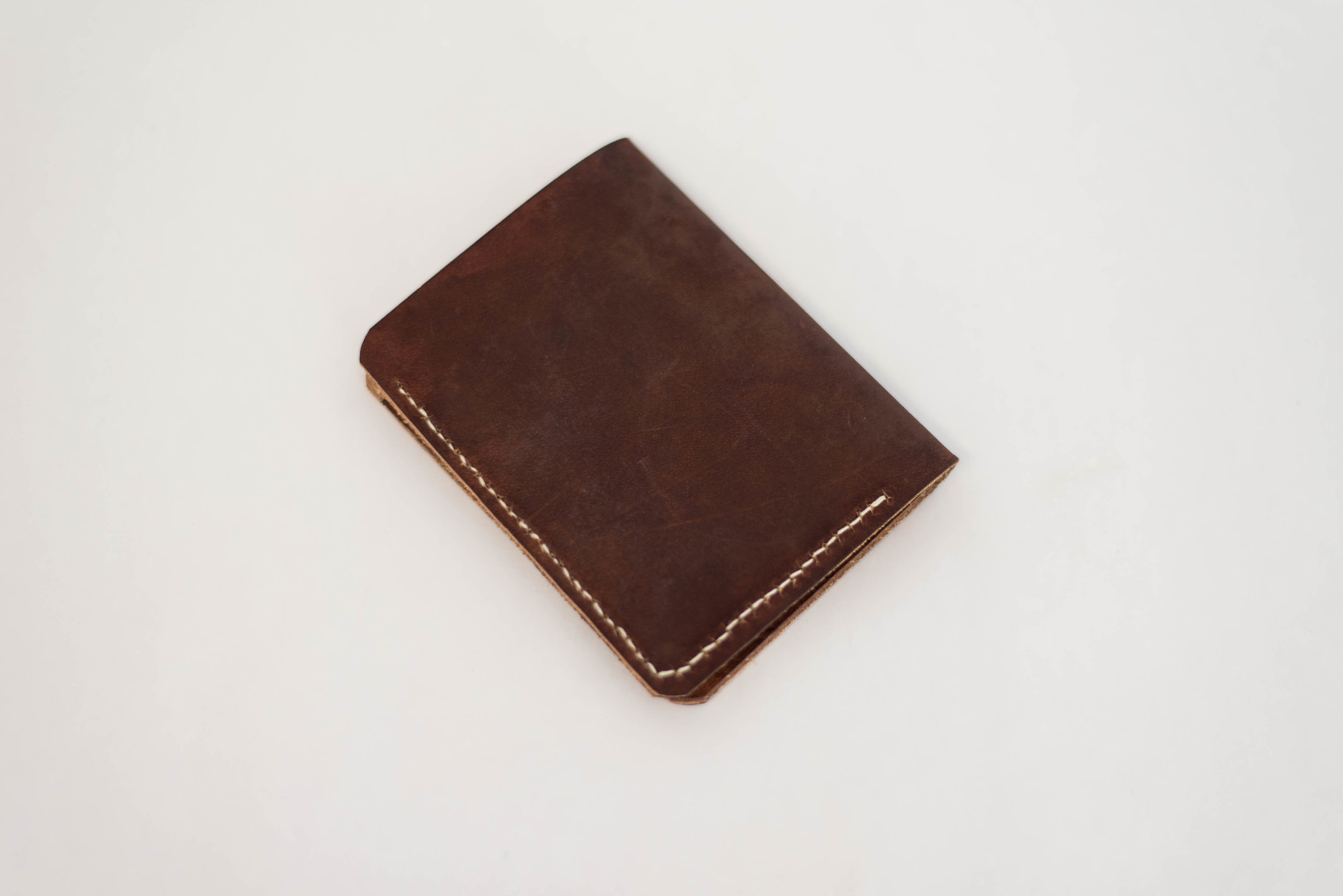 Dark Brown Bi-Fold Wallet