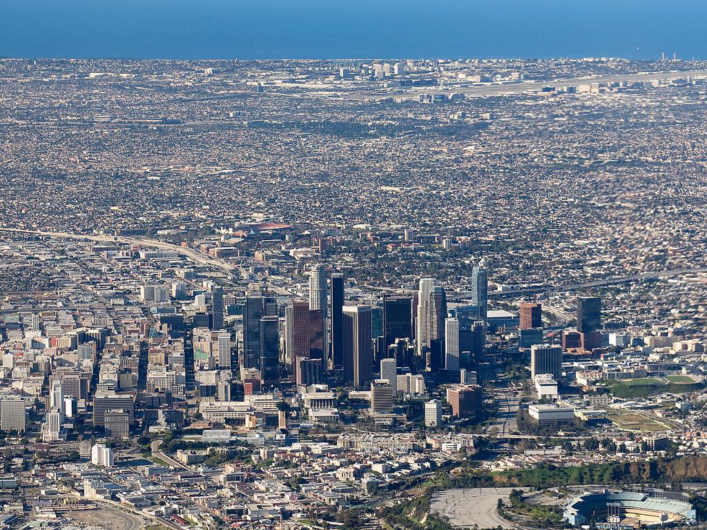Los Angeles, by mcbridejc