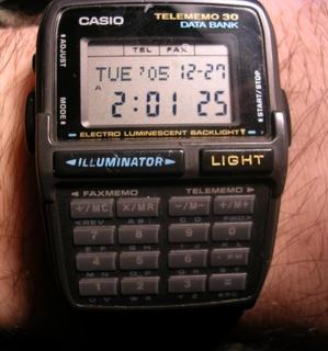 Calculator Watch. From Wikipedia.