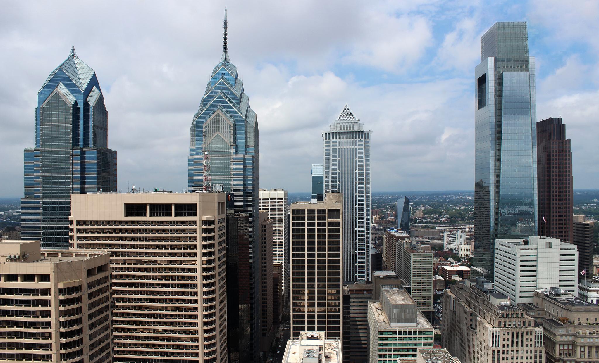 Philadelpdia Skyline by Dominic Lacivita