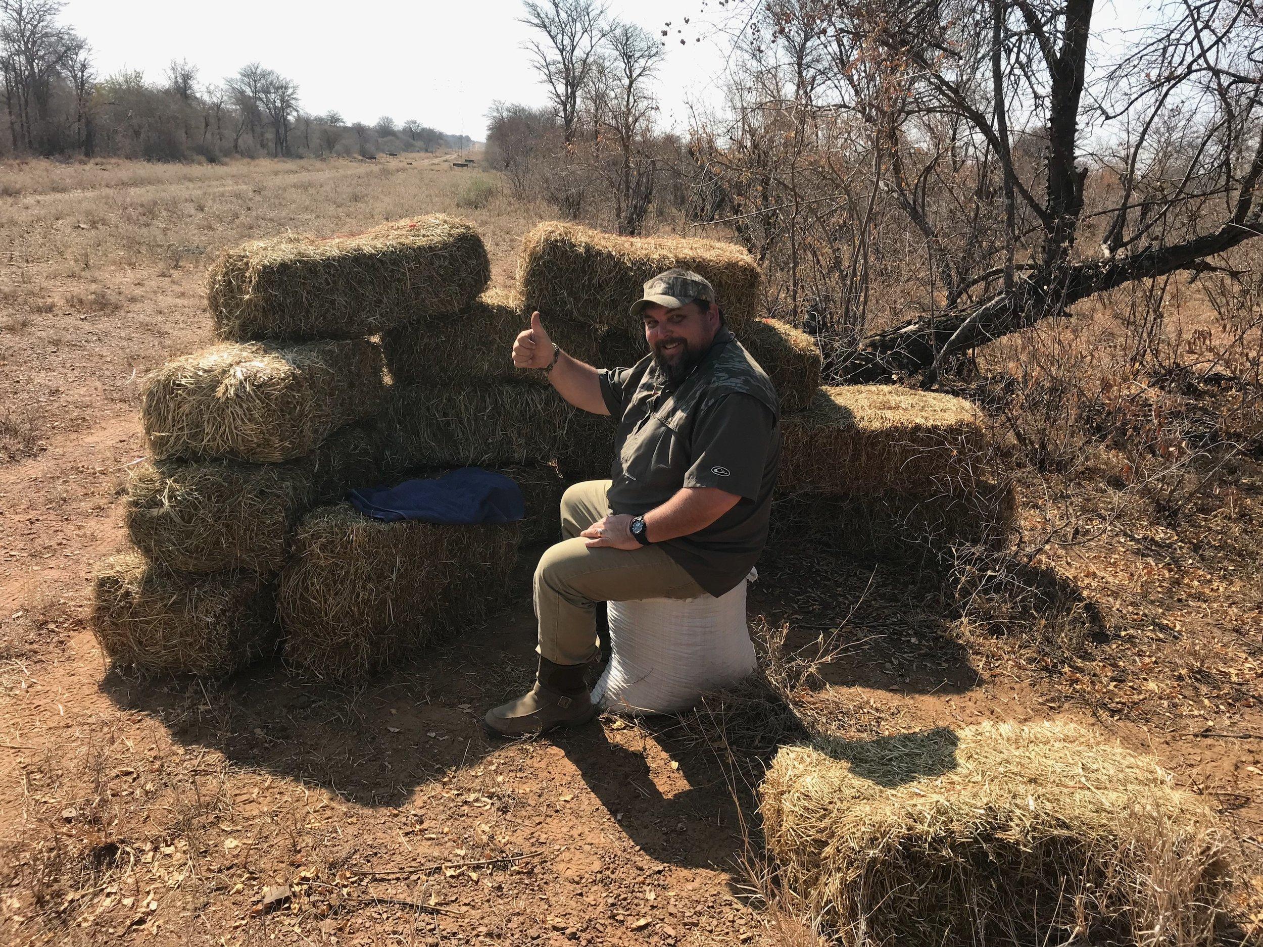 Jason Greene in Kudu Blind