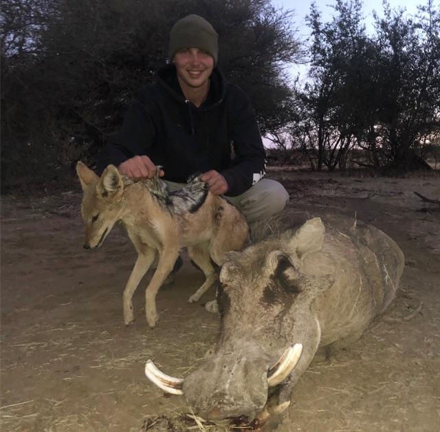 Trace Greene Jackal & Warthog
