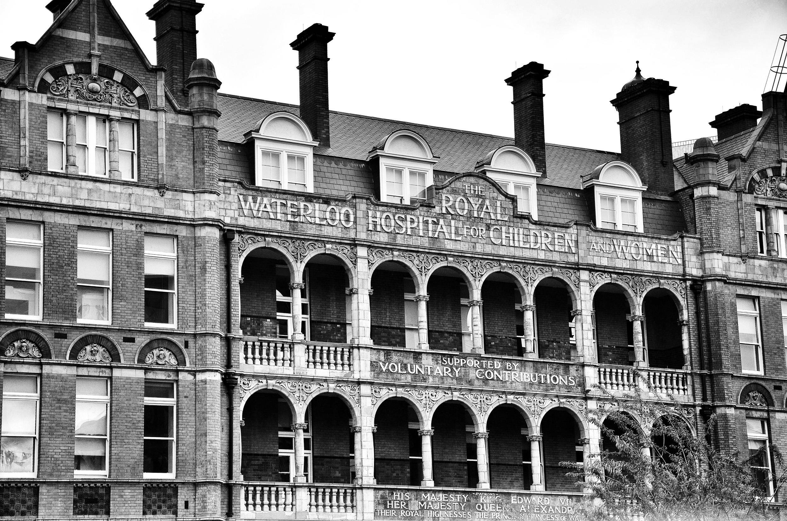 Old Hospital in London, England
