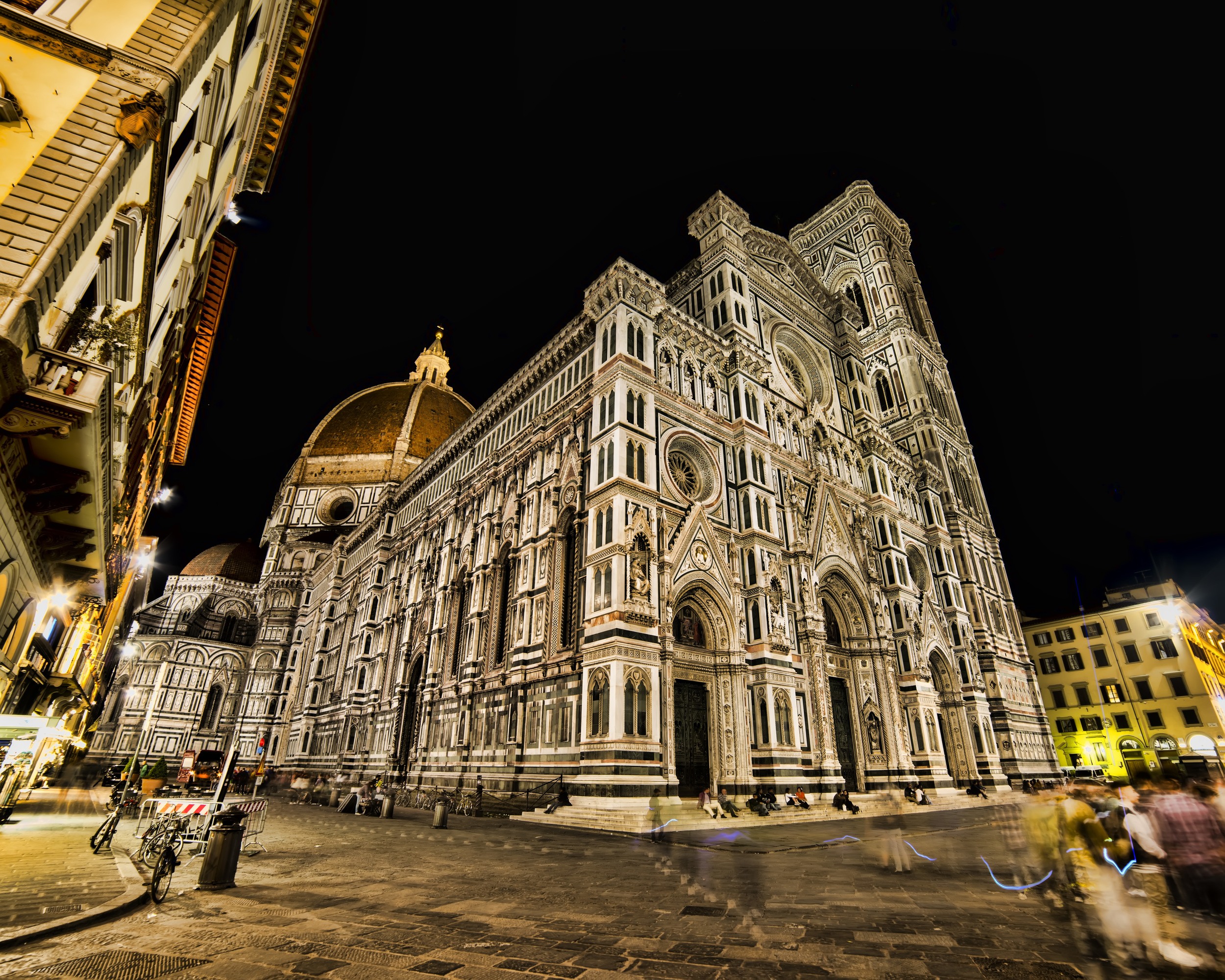 The Duomo at night