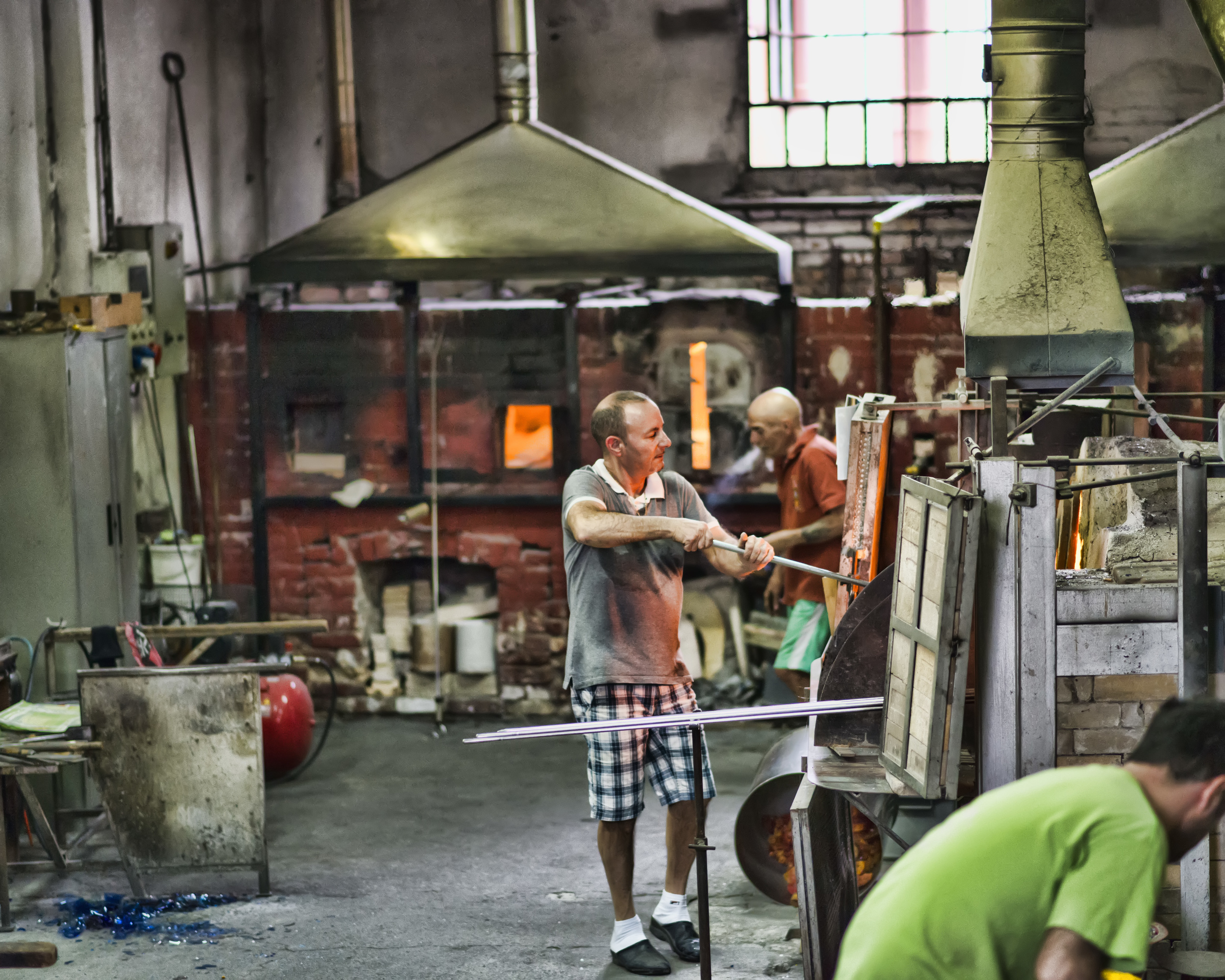 Murano glass factory