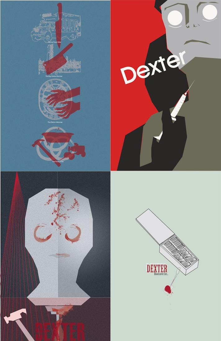 Dexter Set of 4