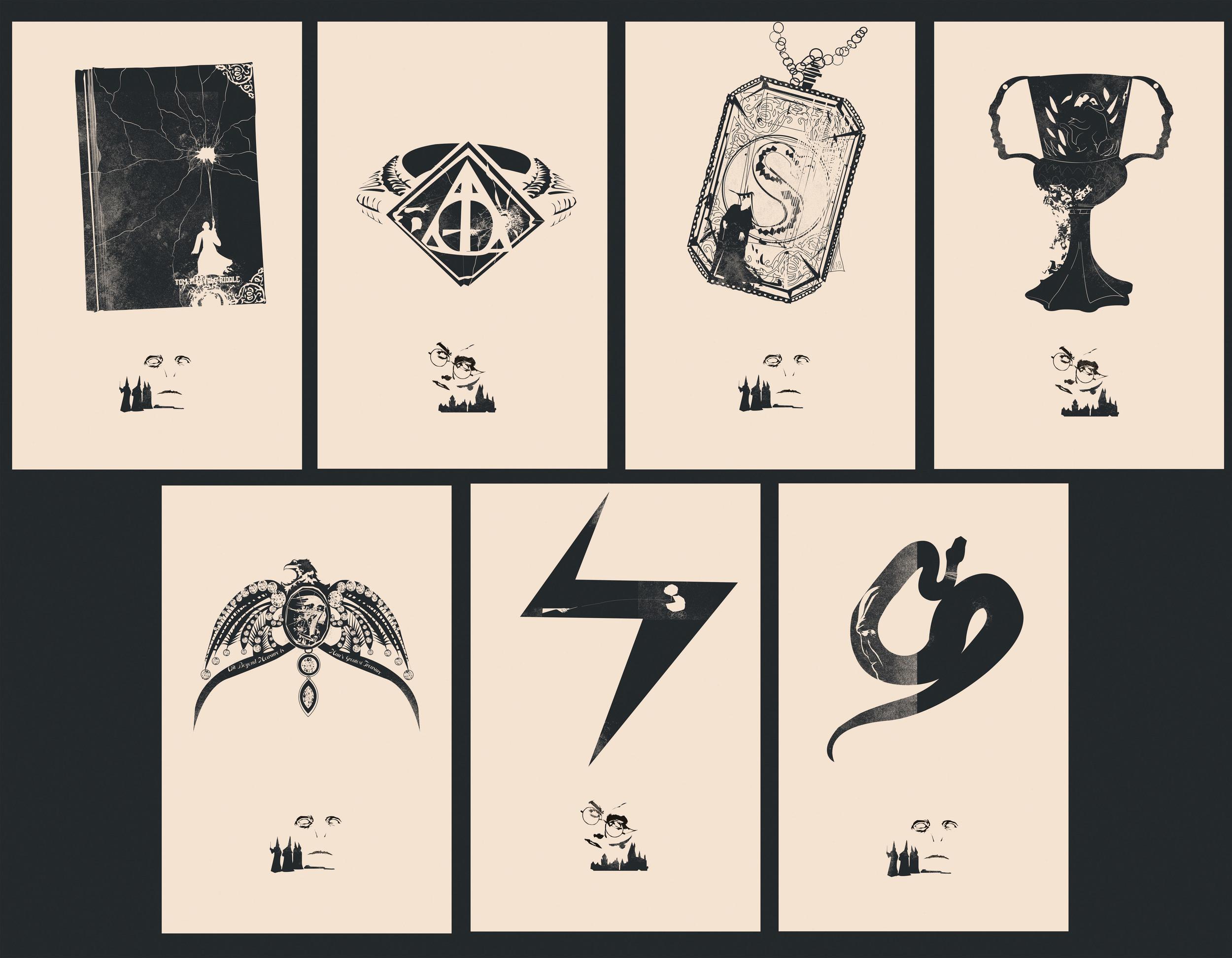 Horcrux Set of 7