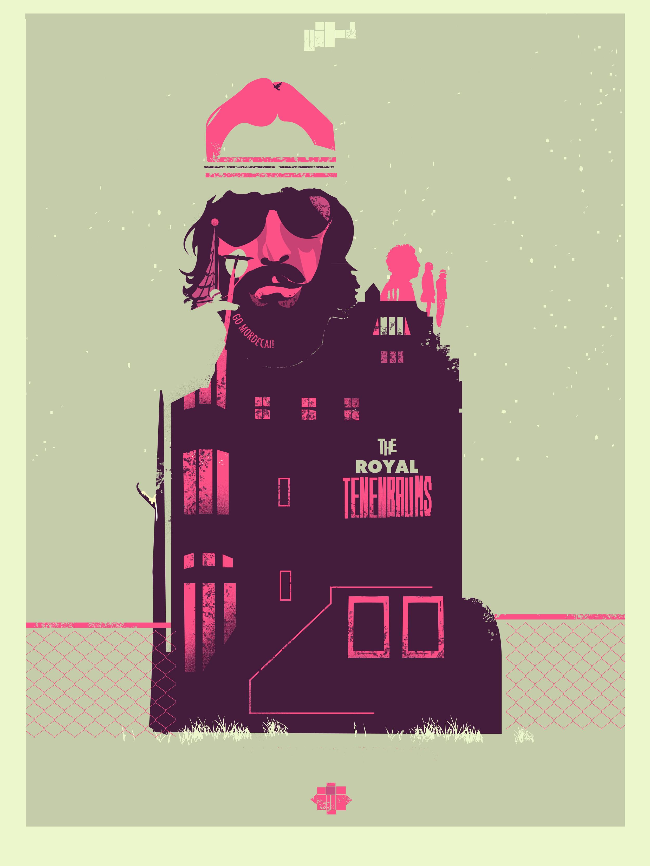 """Go Mordecai Spoke Art """"Bad Dads III"""" October 2012"""