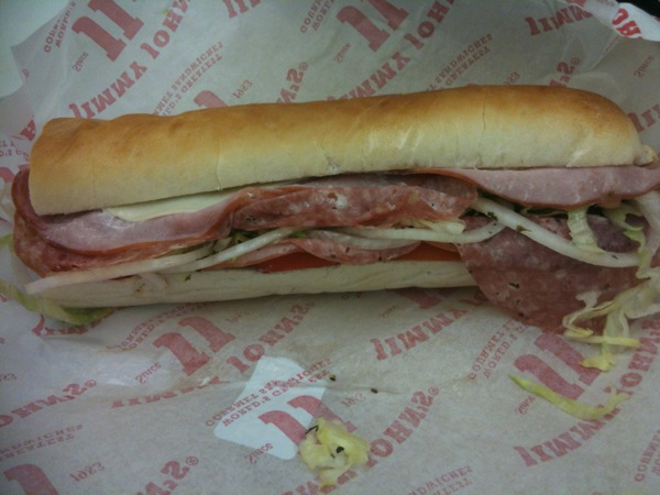 Jimmy John's #9 with Peppers