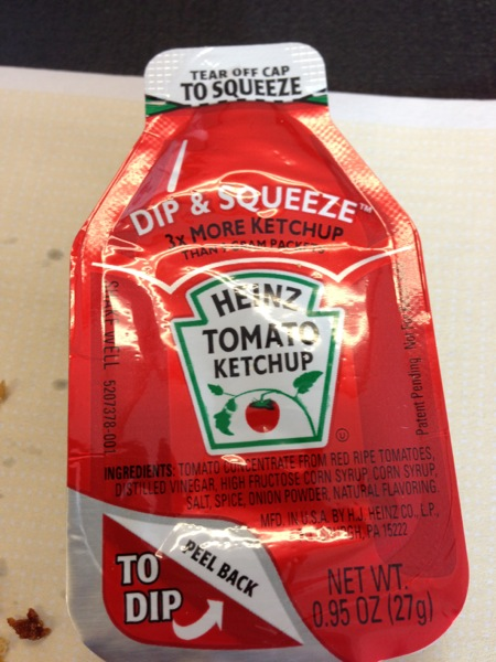 Dip and Squeeze Ketchup