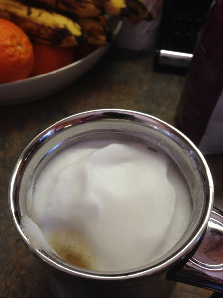 Frothed Milk