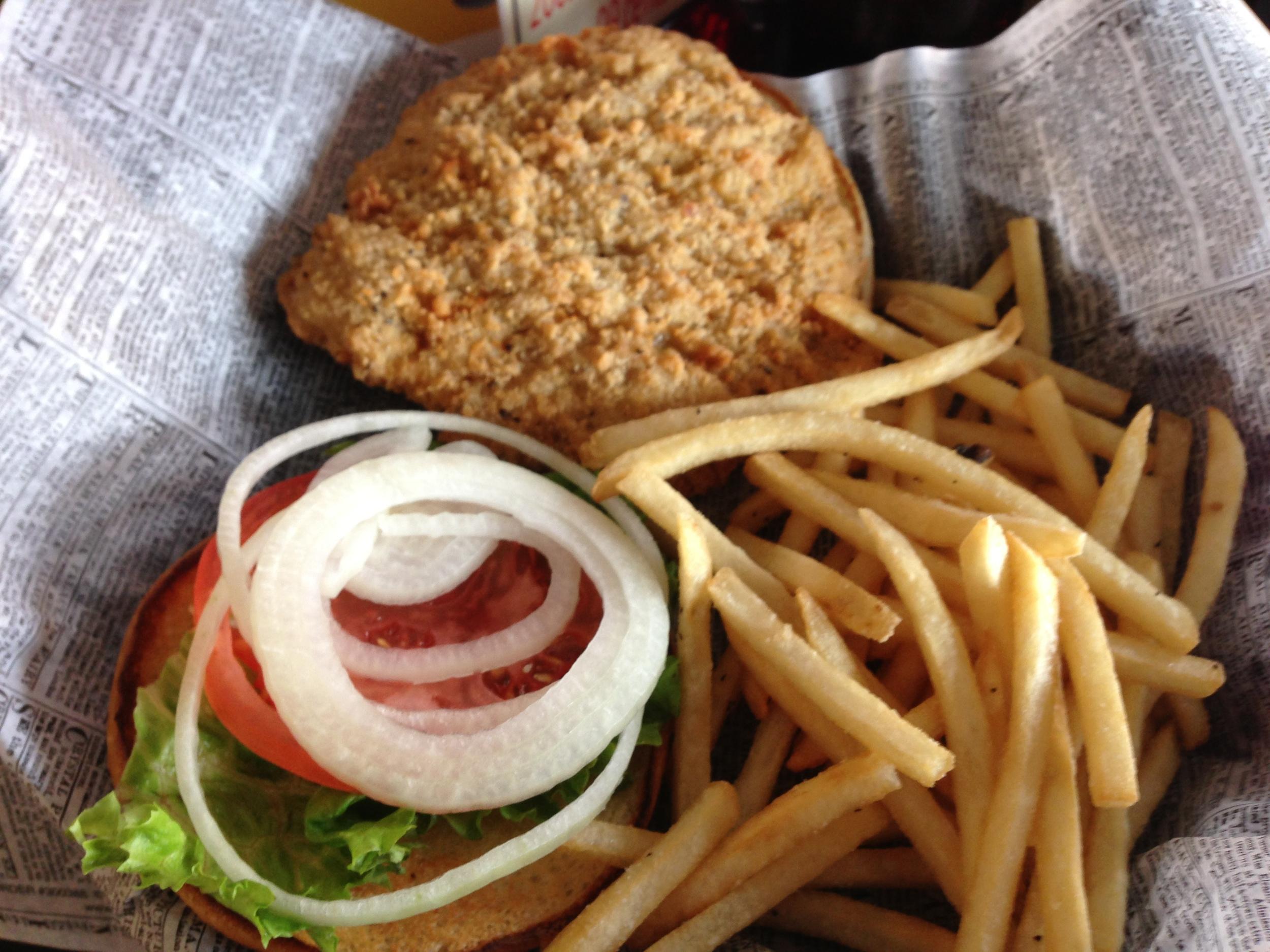 Breaded Tenderloin Sandwich