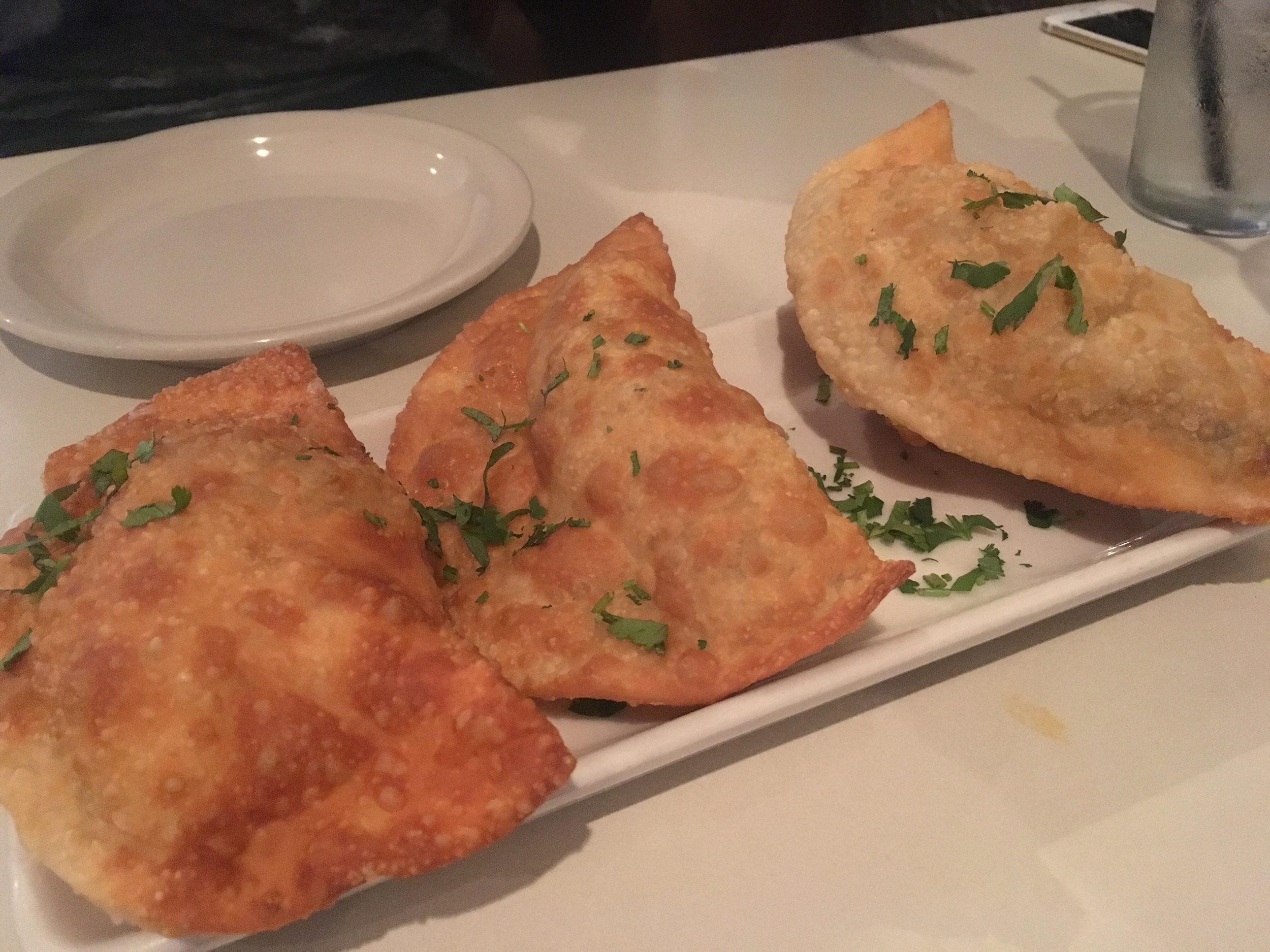 Empanadas- beef, chicken, or cheese