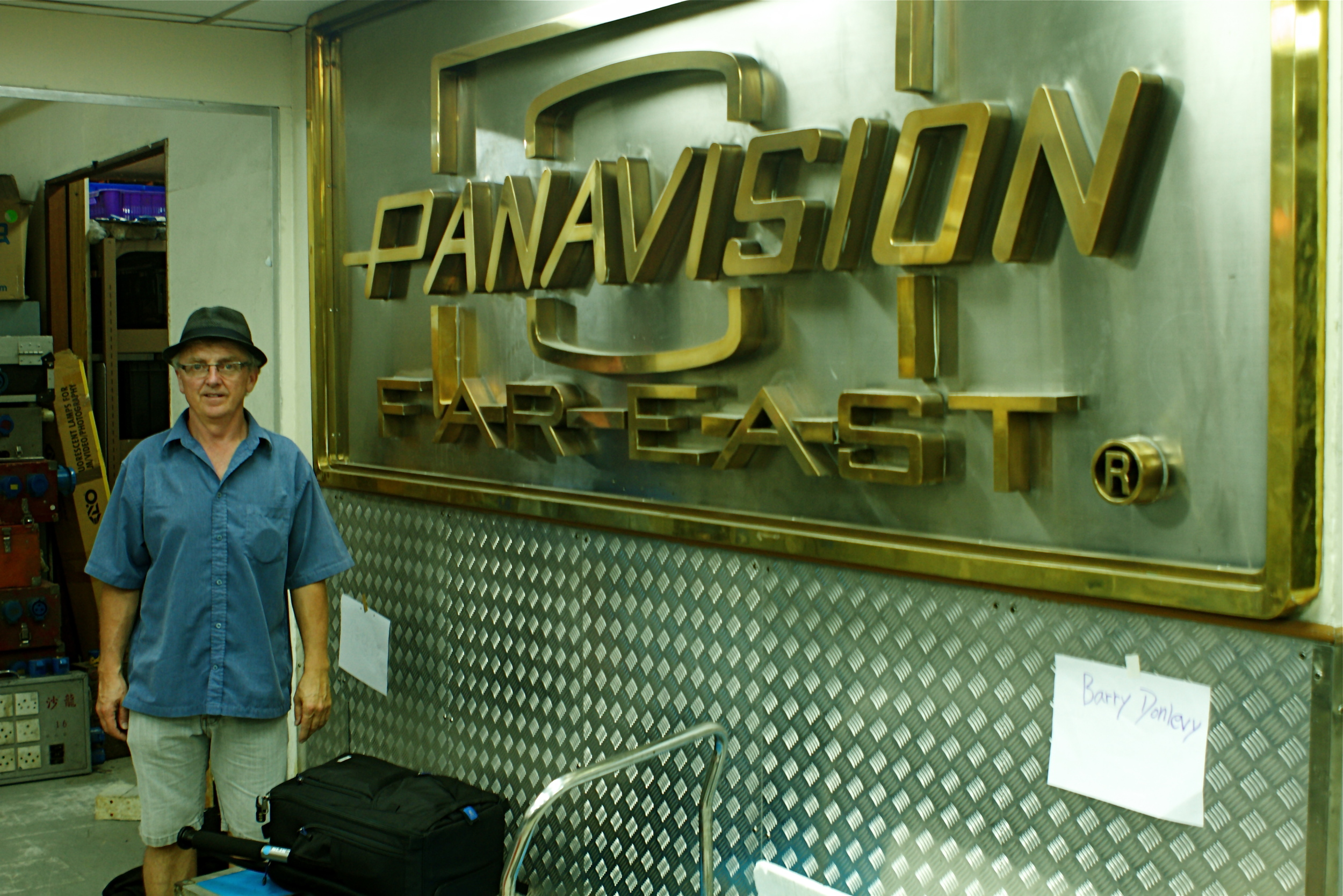 Barry at Panavision East.