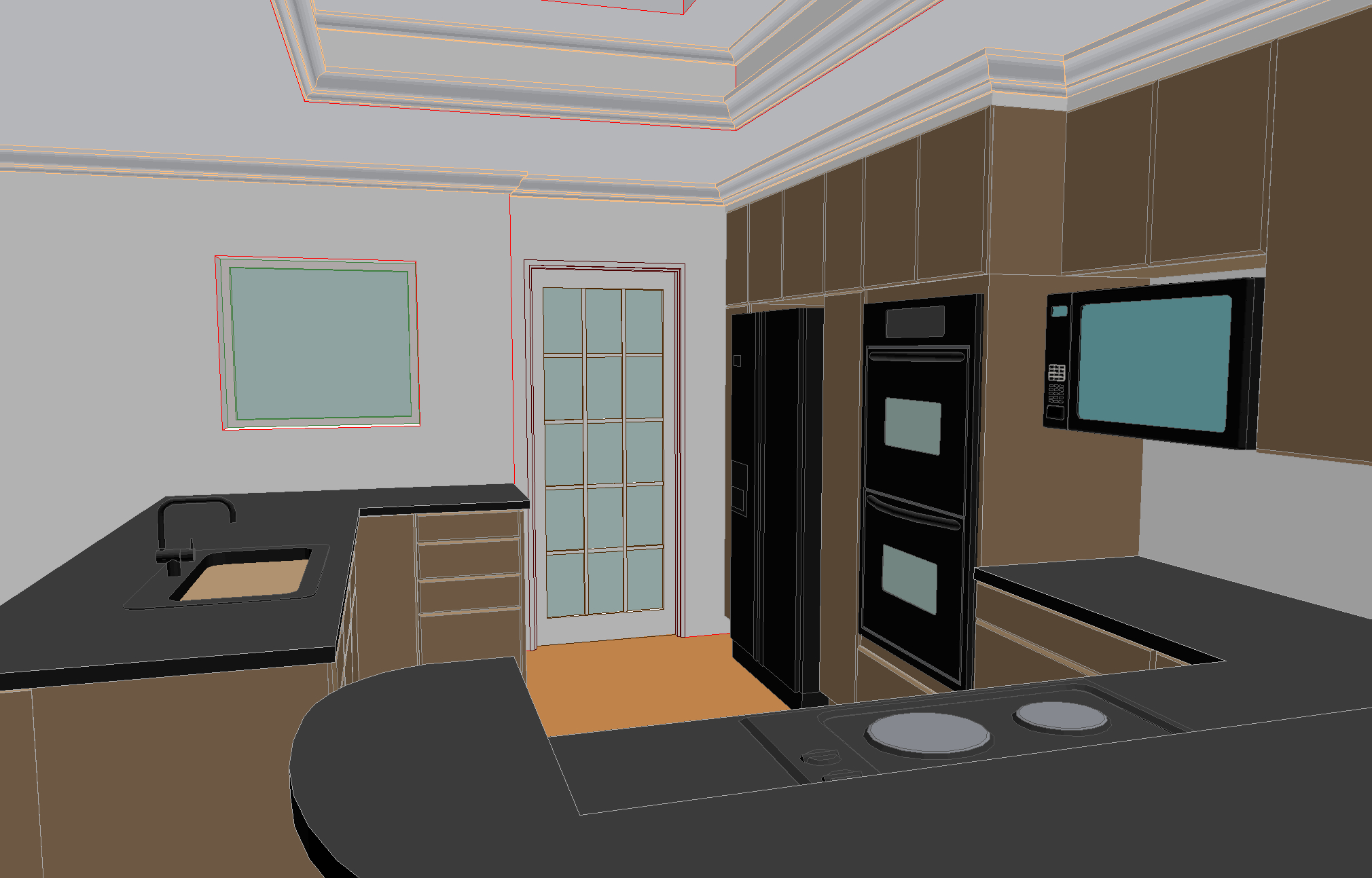 The 3D visualization process helps clients understand what they're getting before starting.