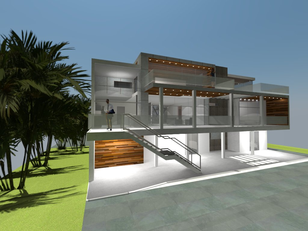 "Modern Renovation of an existing house on the bay. Check out more work  ""On the Boards"""
