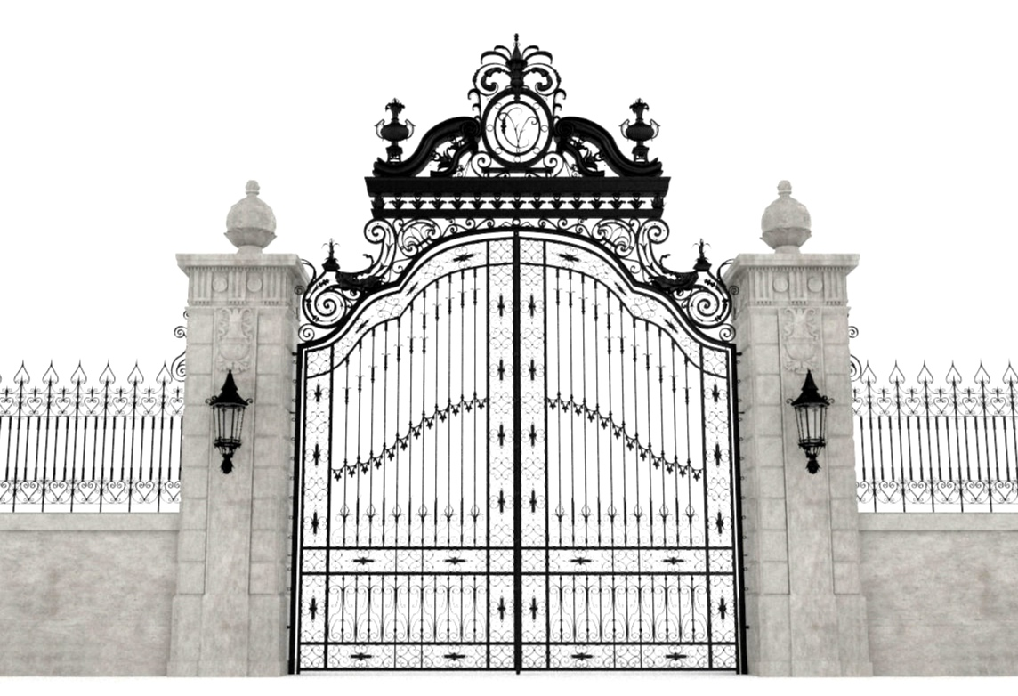 mansion-gate