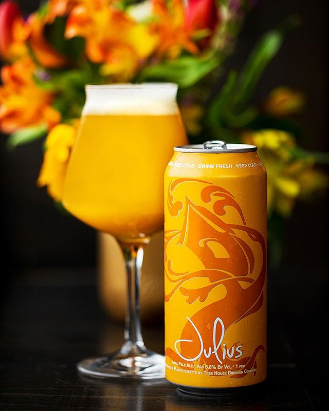 This is a beer we make called Julius. I originally brewed it in my kitchen seven years ago & to be able to offer it at scale for many here in New England to enjoy on a consistent basis is quite literally a dream come true.
