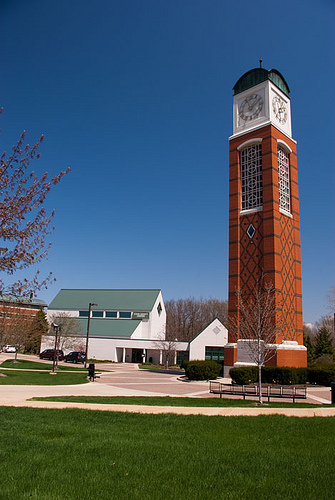 The Cook DeWitt Center located on the campus of Grand Valley State University