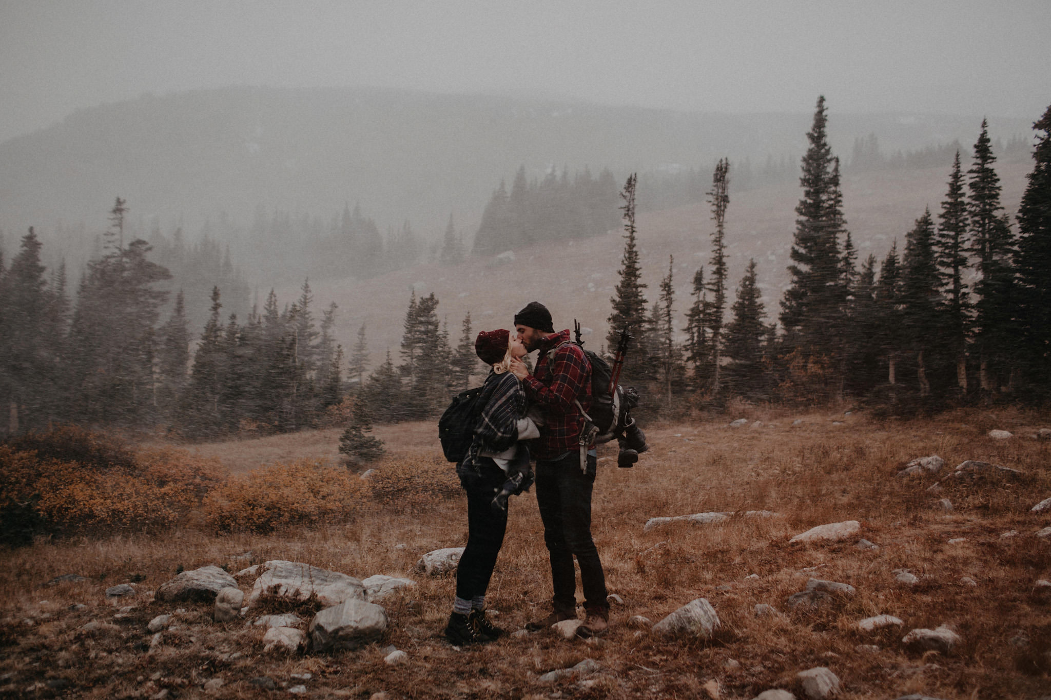 rocky mountain snow storm engagement