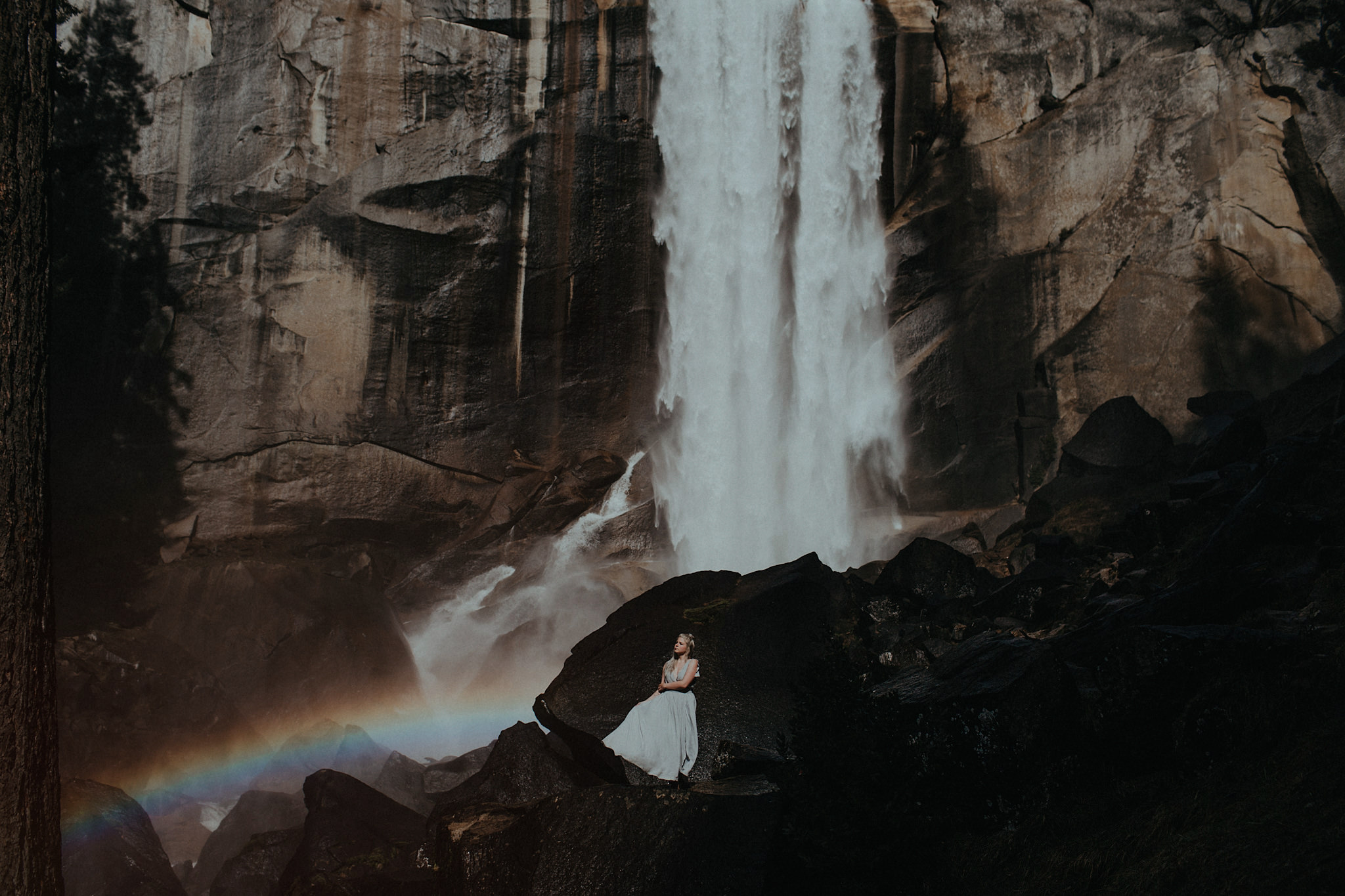 yosemite wedding vernal falls