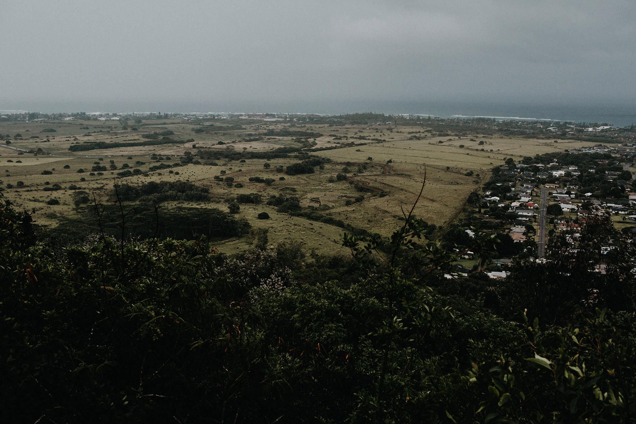 hawaii elopement landscape photo