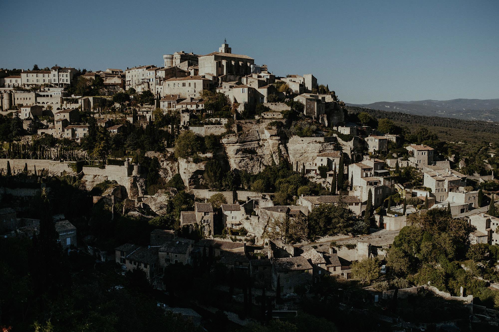 gorde provence france city photo