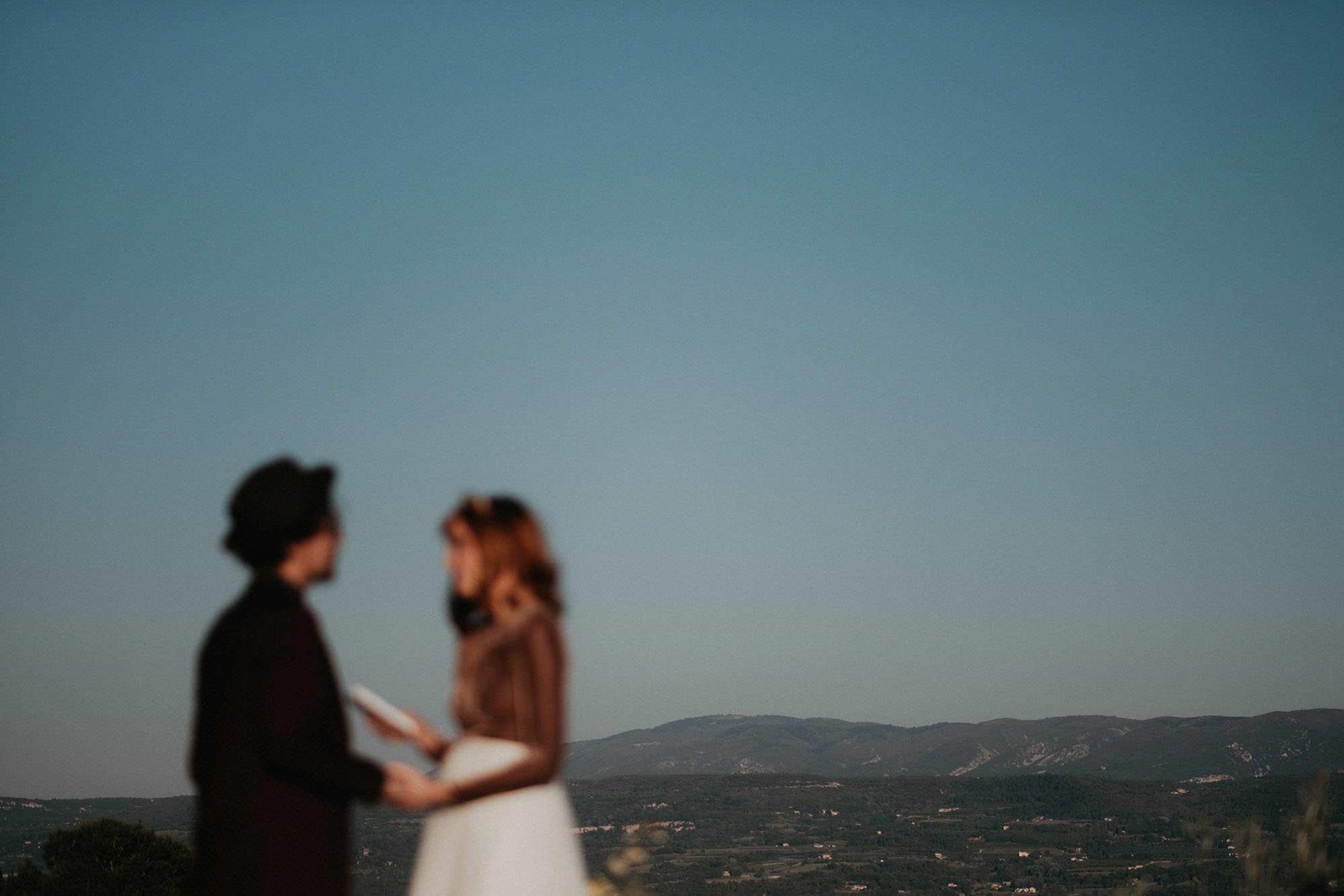 goult provence france elopement vow renewal couple portrait photo
