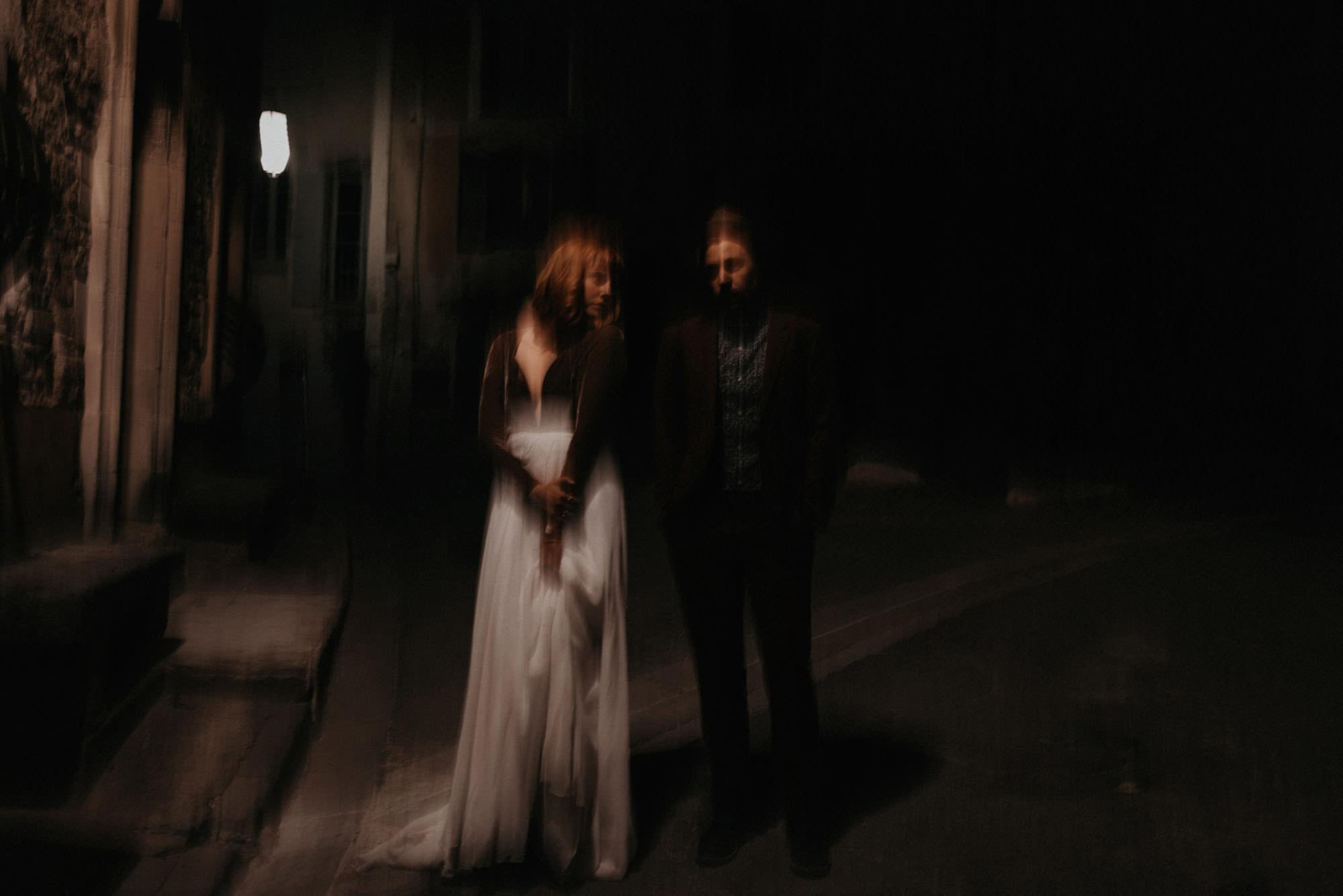 goult provence france elopement vow renewal couple street portrait photo