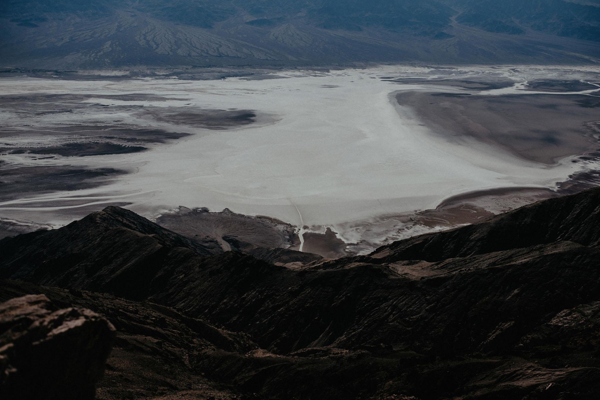 death valley adventure elopement wedding photographer national park dantes view