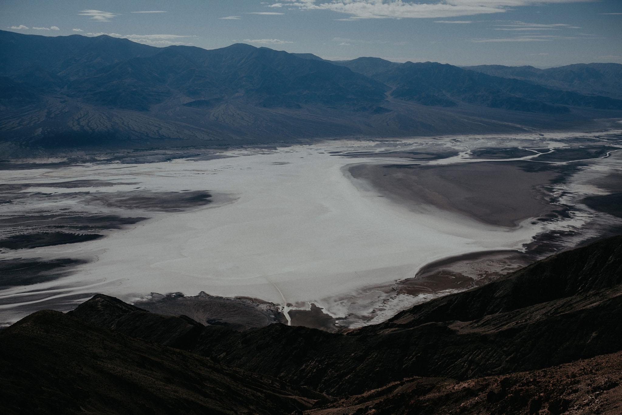 death valley adventure elopement wedding photographer national park desert mountains salt flat