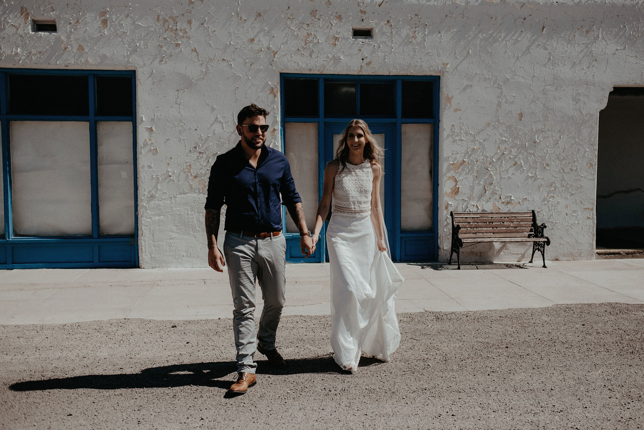 death valley adventure elopement wedding photographer national park desert couple portrait