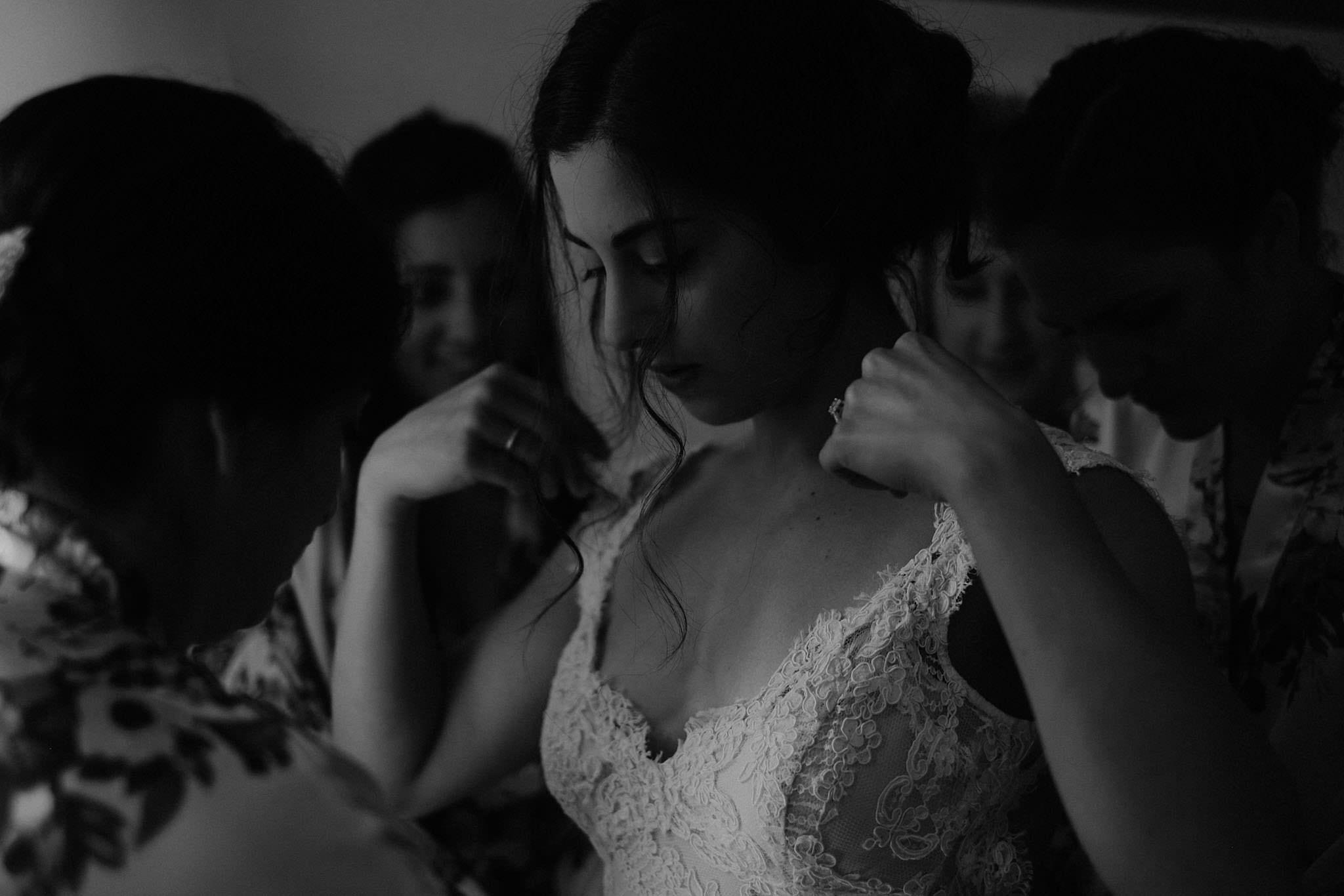 Fano Italy wedding dress photo