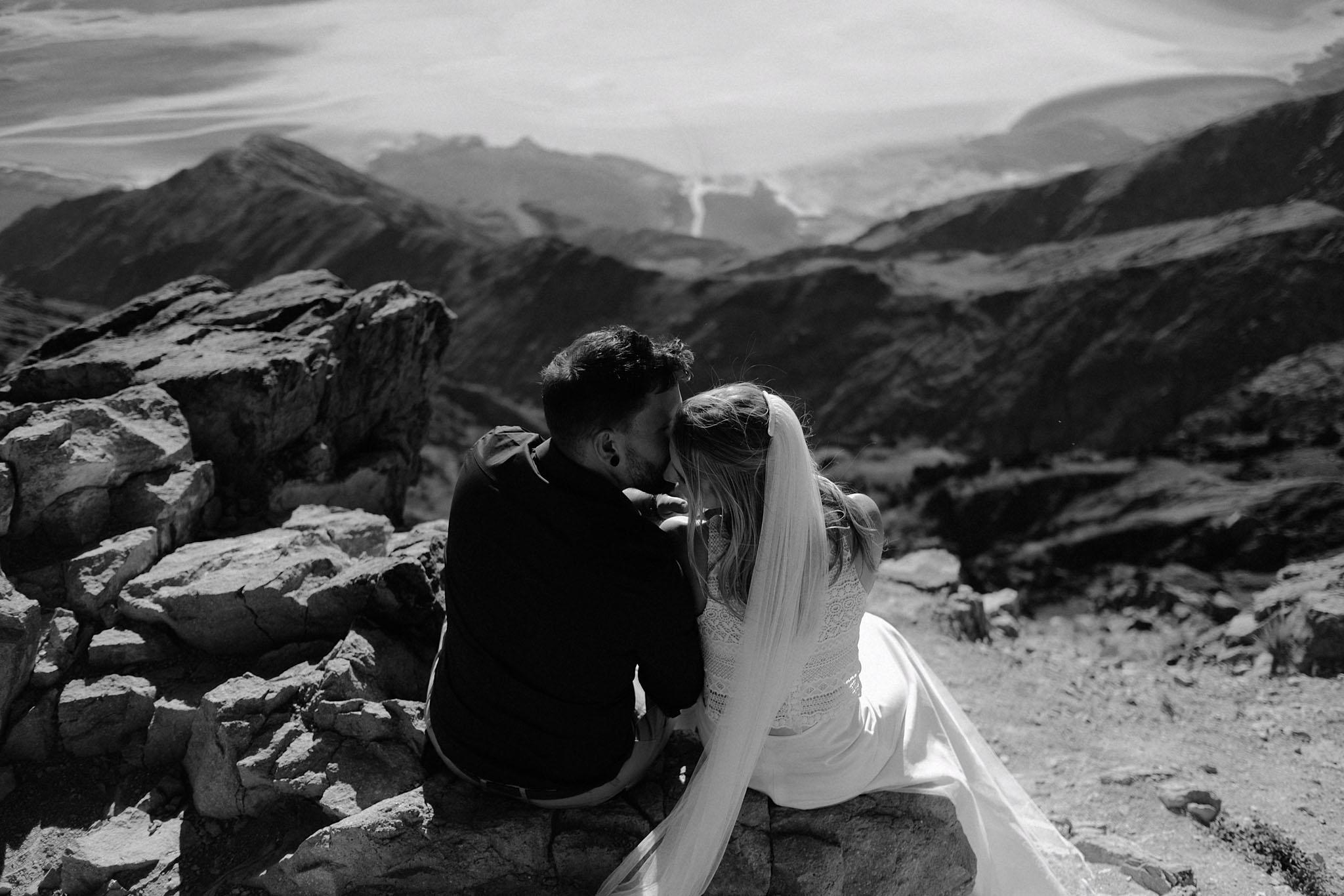 Kate & Matt - Death Valley, CA elopement