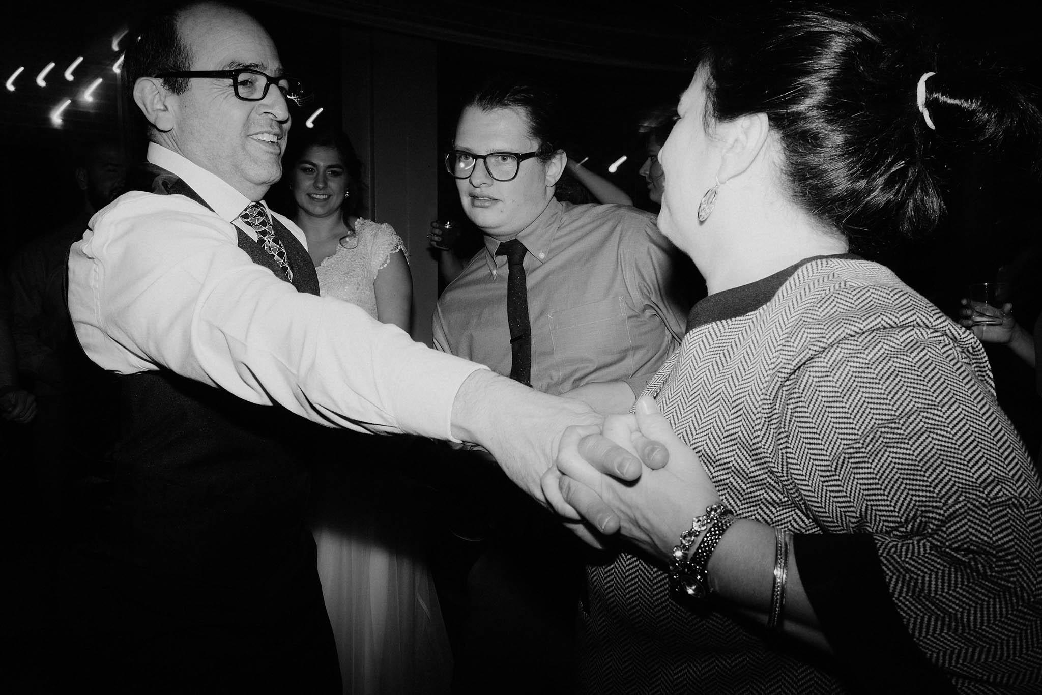 cincinnati warehouse wedding photographer reception dancing