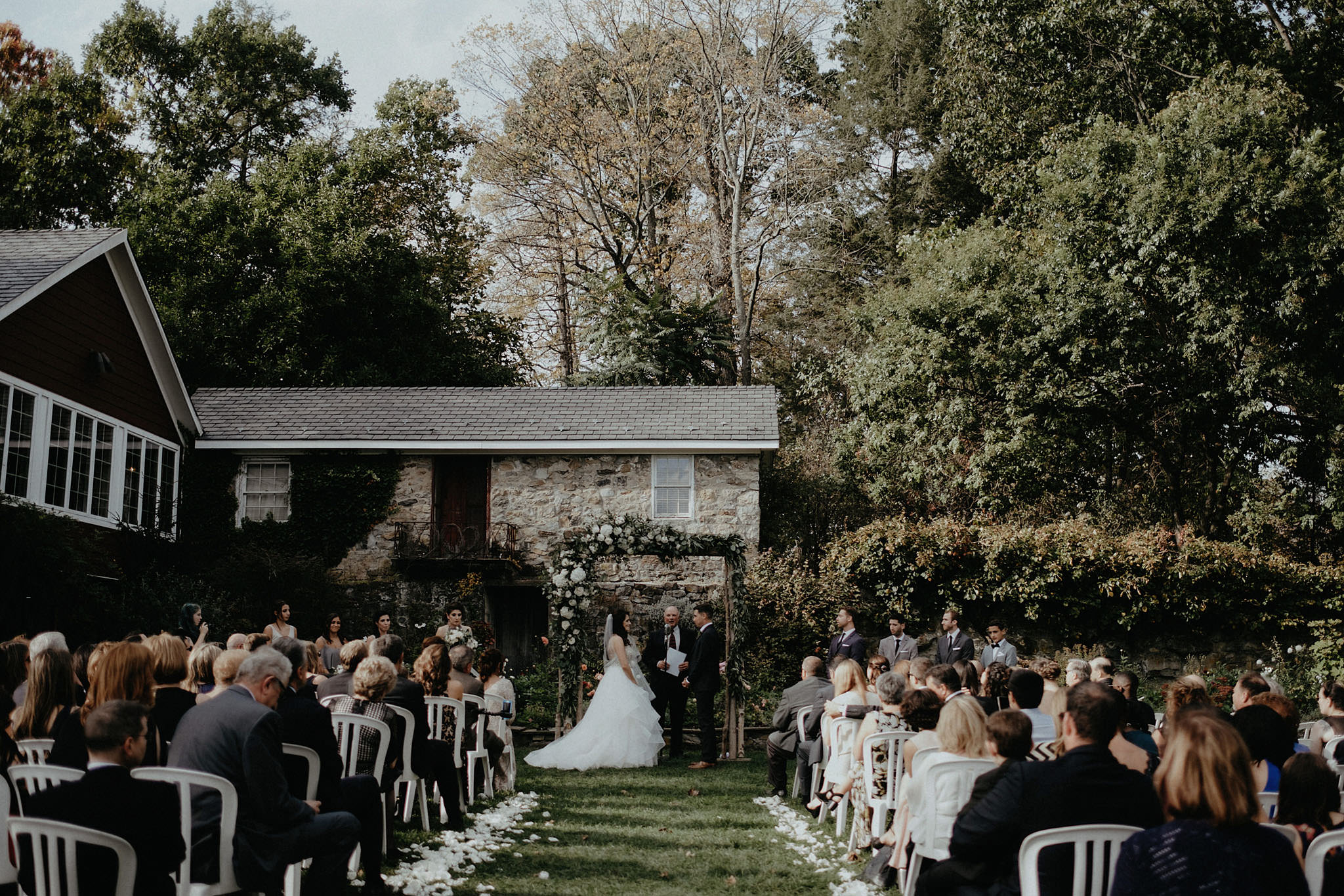 intimate wedding adventure elopement sunny ceremony kentucky photo