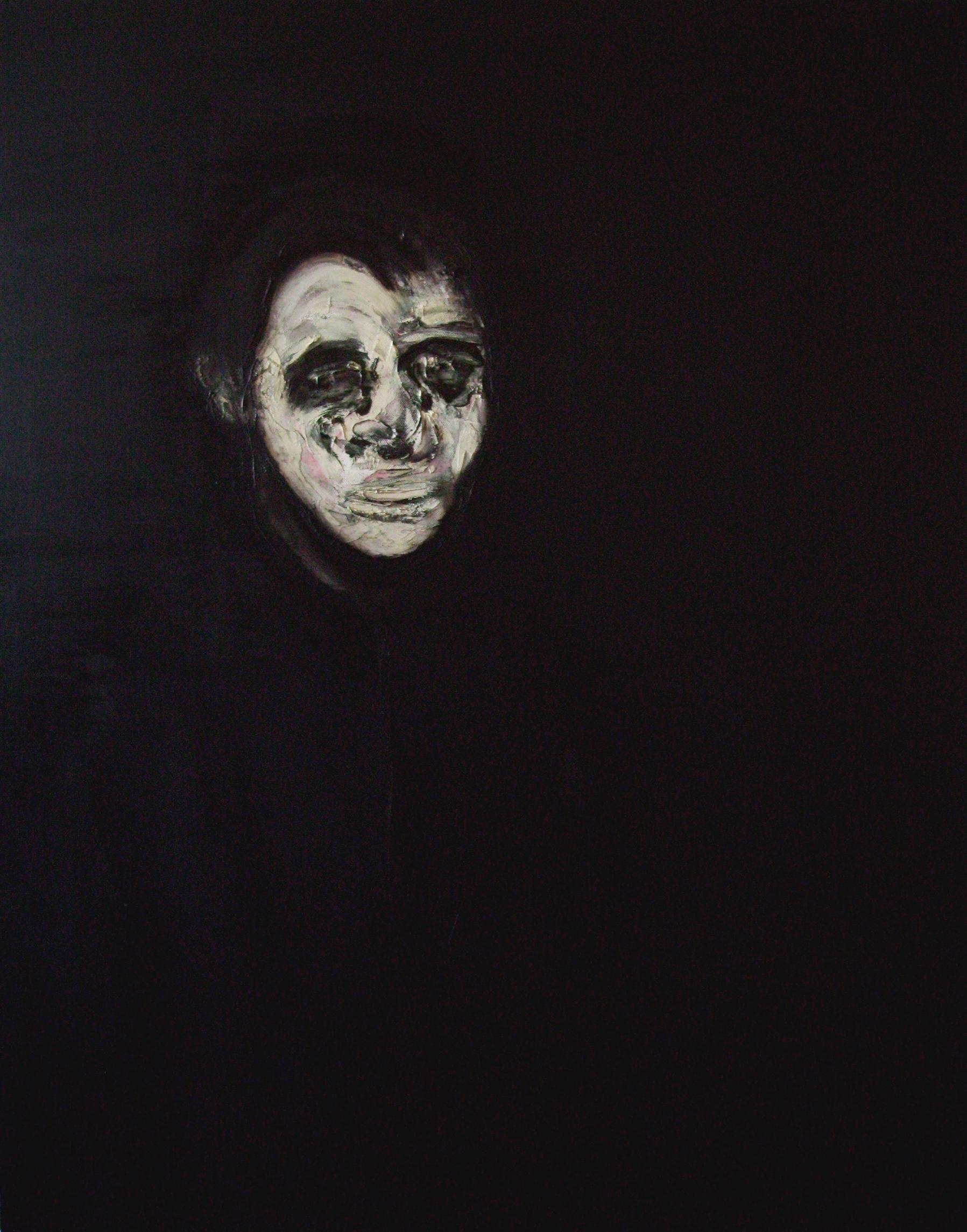 Lorenzo Puglisi   Ritratto CXVII  (2011) olio su tela 100 x 80 cm