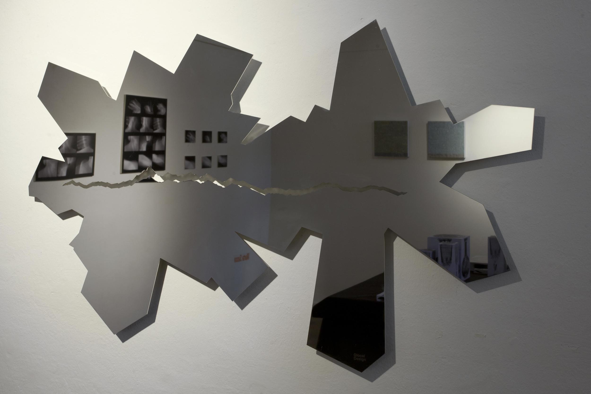 Daniele Basso Krystel (2011) acciaio inox