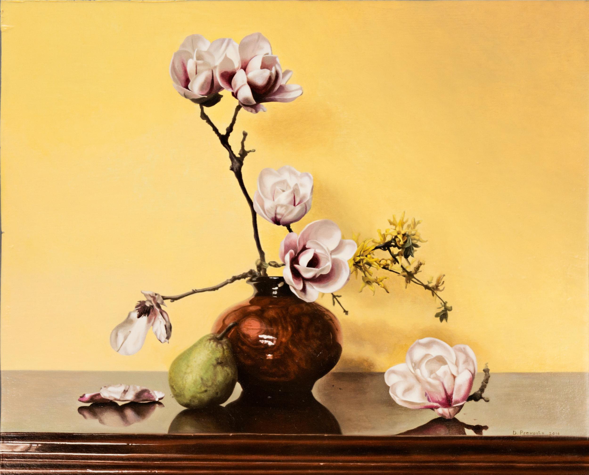 Prevosto D. - Composizione floreale con pera.jpg