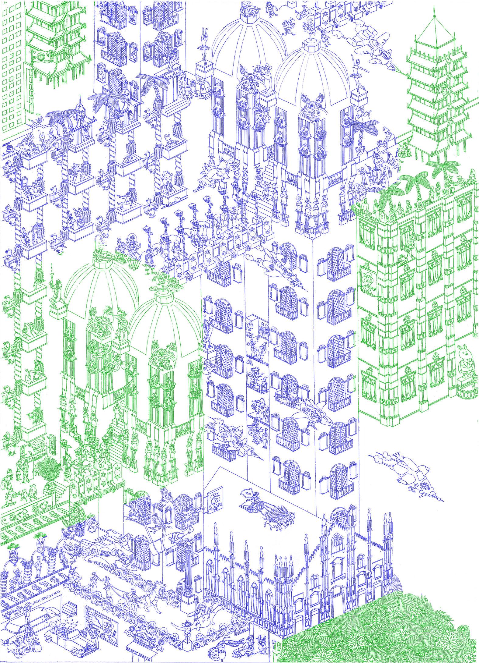 Casolari F. - COPENAGHEN 2700 (inchiostro blu e verde).jpg