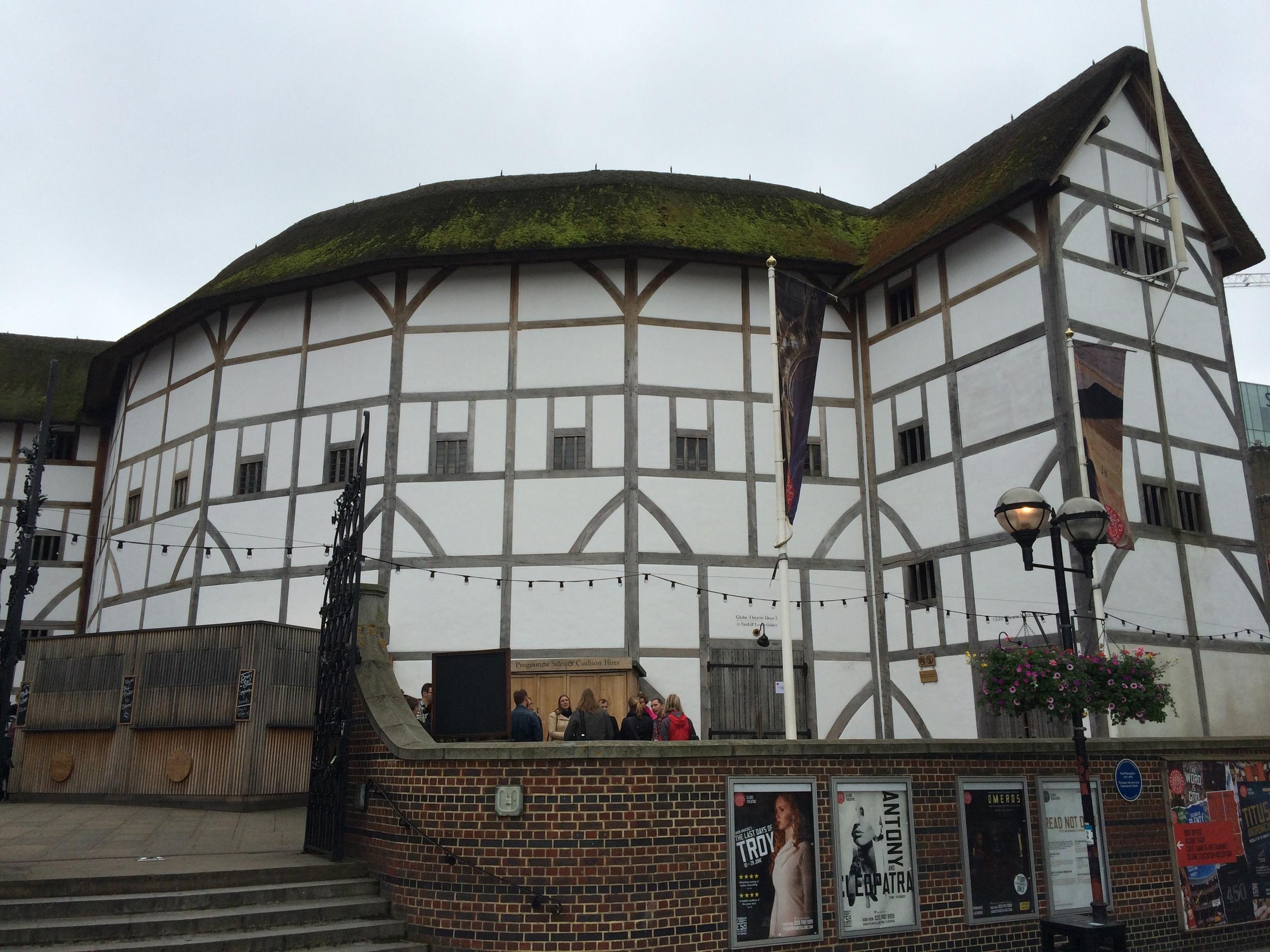 Globe Theater.
