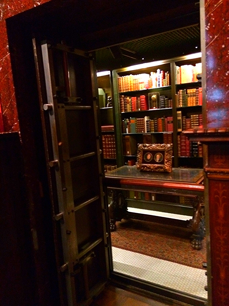 The secret vault where Morgan kept the most prized pieces of his collection.