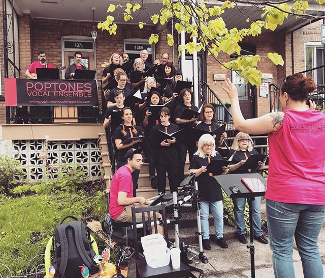 Wonderful show yesterday as part of #porchfest2018! Thanks to everyone who joined us to welcome the sun.