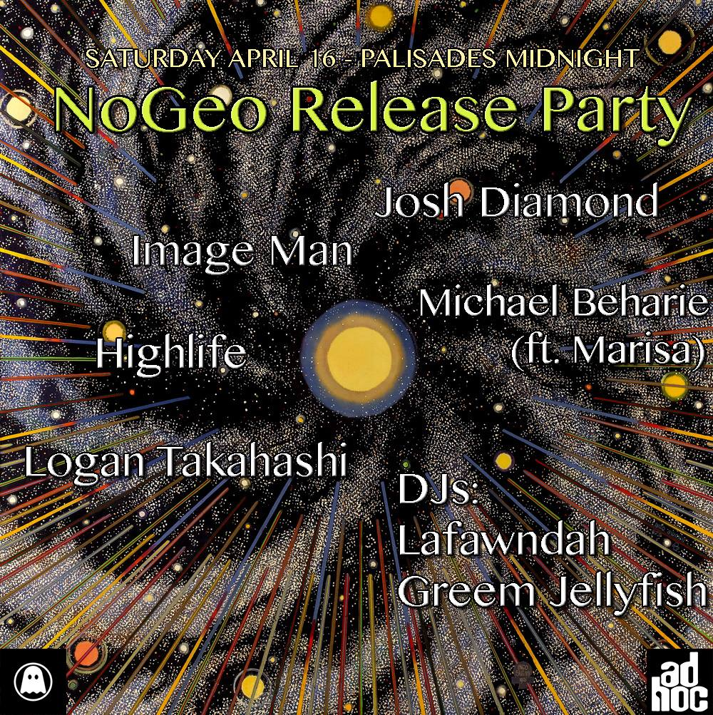 live set at Logan Takahashi's record release party