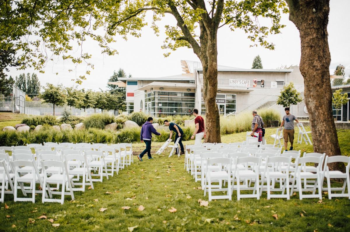 Hippie wedding in Vancouver