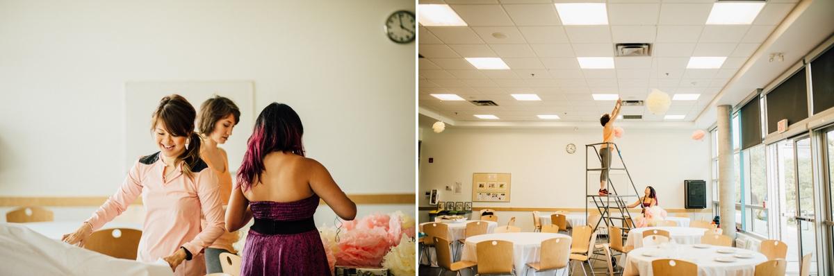 DIY Vancouver wedding