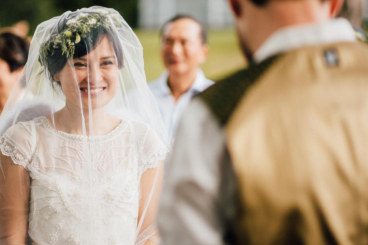 Beautiful bride in Vancouver
